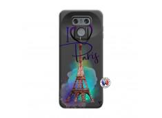 Coque Lg G6 I Love Paris