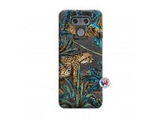 Coque Lg G6 Leopard Jungle