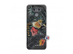 Coque Lg G6 Leopard Tree