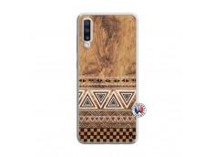 Coque Samsung Galaxy A70 Aztec Deco Translu