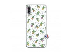 Coque Samsung Galaxy A70 Le Monde Entier est un Cactus Translu