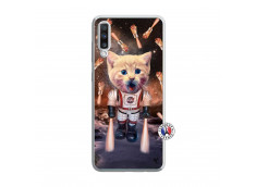Coque Samsung Galaxy A70 Cat Nasa Translu