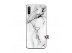 Coque Samsung Galaxy A70 White Marble Translu