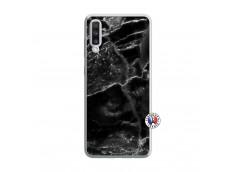 Coque Samsung Galaxy A70 Black Marble Translu