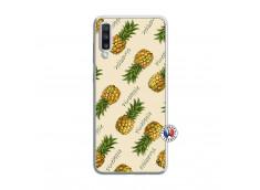 Coque Samsung Galaxy A70 Sorbet Ananas Translu