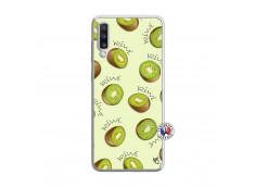 Coque Samsung Galaxy A70 Sorbet Kiwi Translu