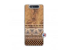 Coque Samsung Galaxy A80 Aztec Deco Translu