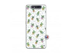 Coque Samsung Galaxy A80 Le Monde Entier est un Cactus Translu