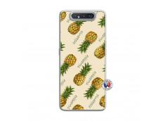 Coque Samsung Galaxy A80 Sorbet Ananas Translu