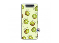 Coque Samsung Galaxy A80 Sorbet Kiwi Translu