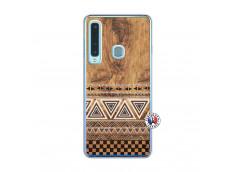 Coque Samsung Galaxy A9 2018 Aztec Deco Translu