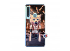 Coque Samsung Galaxy A9 2018 Cat Nasa Translu