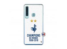 Coque Samsung Galaxy A9 2018 Champion Du Monde Translu