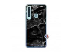Coque Samsung Galaxy A9 2018 Black Marble Translu