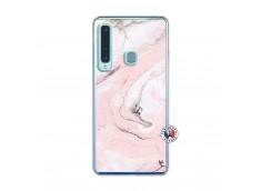 Coque Samsung Galaxy A9 2018 Marbre Rose Translu