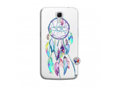 Coque Samsung Galaxy Mega 6.3 Blue Painted Dreamcatcher