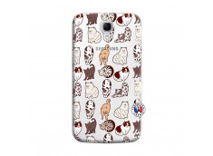 Coque Samsung Galaxy Mega 6.3 Cat Pattern