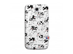Coque Samsung Galaxy Mega 6.3 Cow Pattern