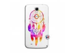 Coque Samsung Galaxy Mega 6.3 Dreamcatcher Rainbow Feathers