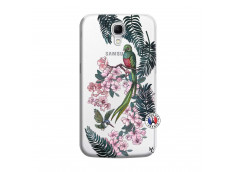 Coque Samsung Galaxy Mega 6.3 Flower Birds