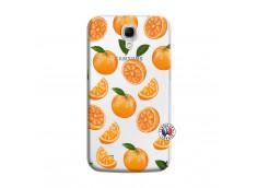 Coque Samsung Galaxy Mega 6.3 Orange Gina