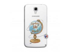 Coque Samsung Galaxy Mega 6.3 Globe Trotter