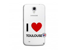 Coque Samsung Galaxy Mega 6.3 I Love Toulouse