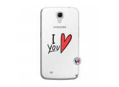 Coque Samsung Galaxy Mega 6.3 I Love You