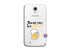 Coque Samsung Galaxy Mega 6.3 Jamais Sans Ma Blonde