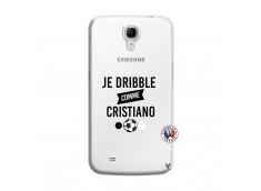 Coque Samsung Galaxy Mega 6.3 Je Dribble Comme Cristiano