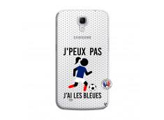 Coque Samsung Galaxy Mega 6.3 Je Peux Pas J Ai Les Bleues Maillot