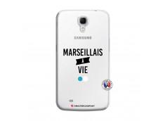 Coque Samsung Galaxy Mega 6.3 Marseillais à Vie