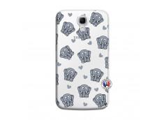 Coque Samsung Galaxy Mega 6.3 Petits Elephants