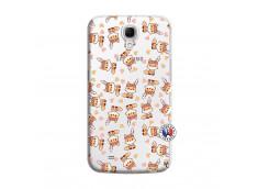 Coque Samsung Galaxy Mega 6.3 Petits Renards
