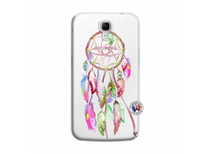Coque Samsung Galaxy Mega 6.3 Pink Painted Dreamcatcher