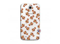 Coque Samsung Galaxy Mega 6.3 Petits Poissons Clown