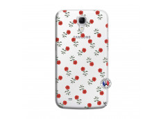Coque Samsung Galaxy Mega 6.3 Rose Pattern