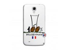 Coque Samsung Galaxy Mega 6.3 100 % Rugbyman Entre les Poteaux