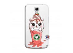 Coque Samsung Galaxy Mega 6.3 Catpucino Ice Cream