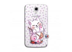 Coque Samsung Galaxy Mega 6.3 Smoothie Cat