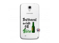 Coque Samsung Galaxy Mega 6.3 Tout Travail Merite Sa Biere