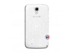 Coque Samsung Galaxy Mega 6.3 White Mandala