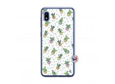 Coque Samsung Galaxy A10 Le Monde Entier est un Cactus Translu