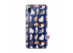 Coque Samsung Galaxy A10 Cat Pattern