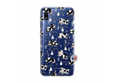 Coque Samsung Galaxy A10 Cow Pattern