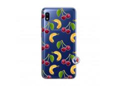 Coque Samsung Galaxy A10 Hey Cherry, j'ai la Banane