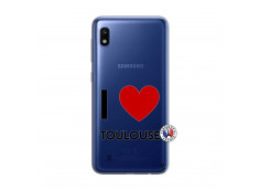 Coque Samsung Galaxy A10 I Love Toulouse