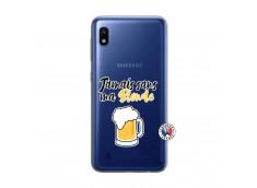 Coque Samsung Galaxy A10 Jamais Sans Ma Blonde