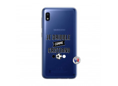 Coque Samsung Galaxy A10 Je Dribble Comme Cristiano