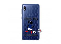 Coque Samsung Galaxy A10 Je Peux Pas J Ai Les Bleues Maillot
